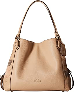 COACH - Patchwork Tea Rose Edie 31 Shoulder Bag