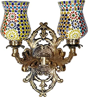 Amazon.com: Lalhaveli - Mosaico decorativo de cristal para ...