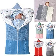 Yinuoday Kinderwagen Decke, Neugeborenen Wickeldecke Winter warme Schlafsack für 0-12 Monate Baby Jungen oder Mädchen