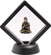 Buddha Statue with Display Frame Case