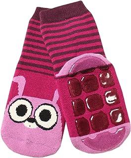 Weri Spezials, bebés y niños Completo de ABS calcetín Conejo Diseño en rojo de gris
