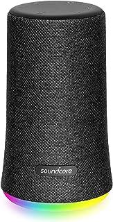 Anker Soundcore Flare Mini Bluetooth スピーカー 防水 高音質 重低音 360°サウンド 10W出力 大音量 ステレオペアリング IPX7 (ブラック)