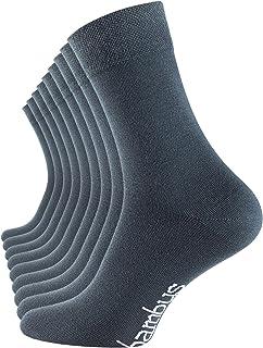 Vincent Creation, 6-9 pares de calcetines de bambú, unisex, de bambú, para hombre y mujer, punta remallada a mano 9 pares – Stargazer 43-46