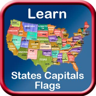States Capitals Flags Pro - Learn United States of America Map Puzzles Quiz History Details