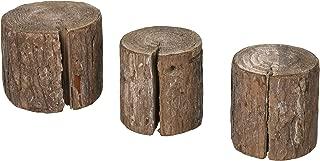 PA Essentials SDI695 Wood Stumps 3 Staggered Siz, None