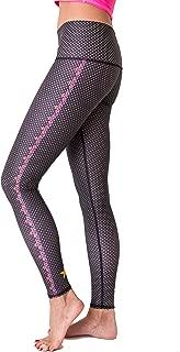 Women's Legging Or Hot Pant, Polka Dot Cowgirl (Black)