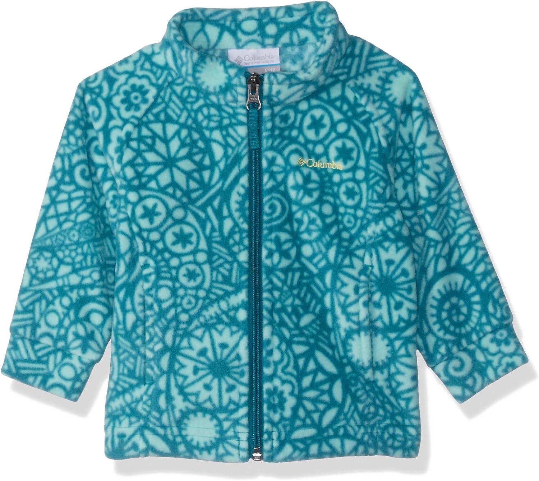 Columbia baby-girls Benton Springs Ii Printed Fleece Jacket