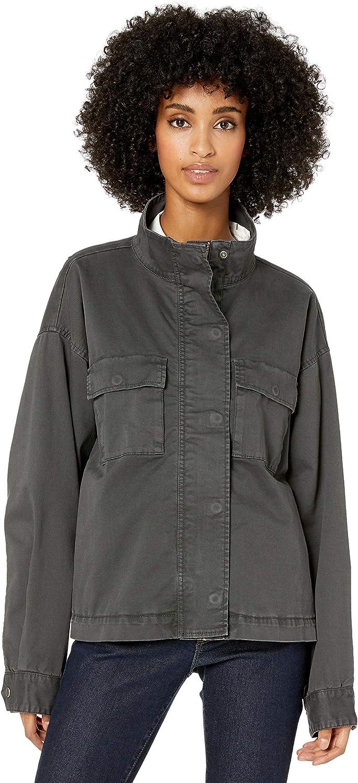 Goodthreads Women's Cropped Oversized Utility Jacket