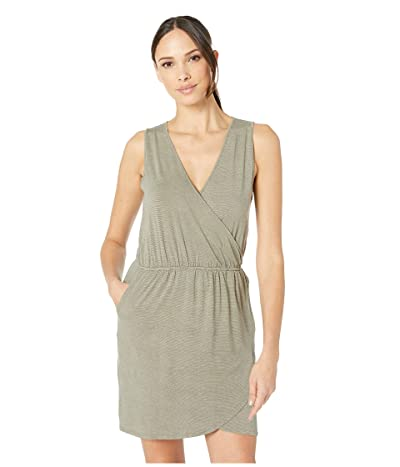 Carve Designs Kendall Dress (Olive Stripe) Women