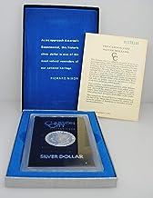 1881 CC Carson City Morgan Silver Dollar GSA With COA $1 Brilliant Uncirculated US Mint