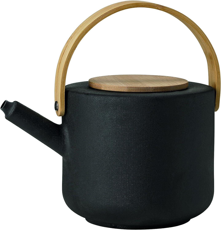 Color Negro Stelton Theo Calentador de Tetera