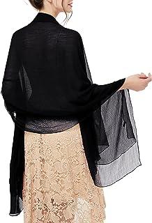 stola abendkleid bridesmay Damen Strand Scarves Sonnenschutz Schal Sommer Tuch Stola für Kleider in 29 Farben
