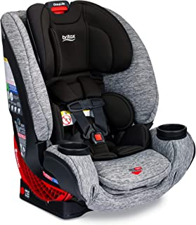 Britax One4Life ClickTight All-In-One Car Seat – 10 Years of Use – Infant, Convertible, Booster – 5 to 120 Pounds, Spark P...