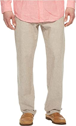 Linen Cotton Drawstring Pants