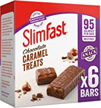 SlimFast Chocolate Caramel Snack Bar Multipack 30 Bars Pack of 5 Boxes Estimated Price : £ 15,00