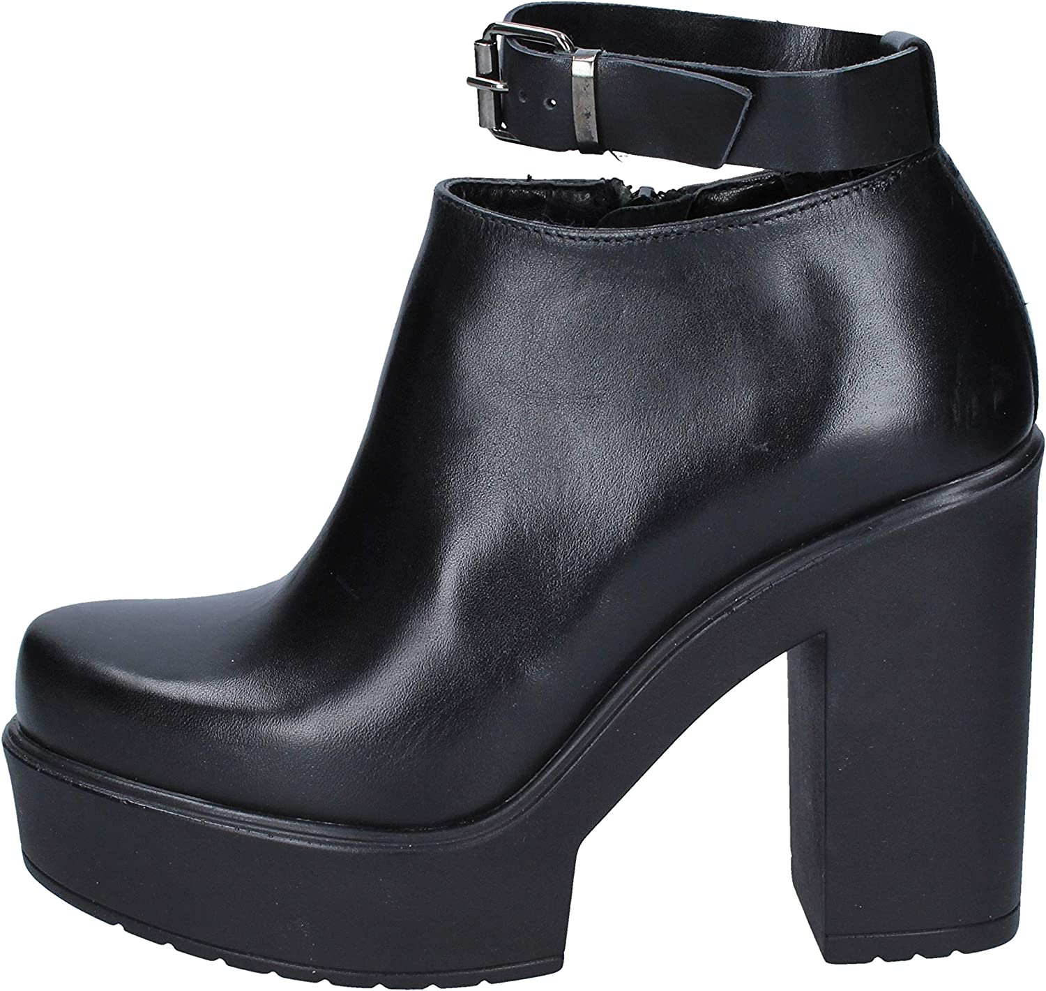 CULT Boots Womens Leather Black