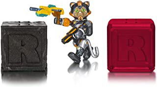 Roblox Celebrity Collection - Cats...in Space: Sergeant Tabbs Figure Pack + Two Mystery Figure Bundle [Includes 3 Exclusive Virtual Items]