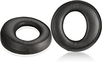 Sony PS3 PS4 Earpads, JARMOR Replacement Protein Leather & Memory Foam Ear Cushion Pad Cover for Sony PlayStation Gold Wireless / 2.0 PlayStation 3 4 Platinum Wireless Stereo Headset (Black)
