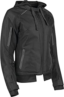 Speed & Strength Women's Spell Bound Textile Jacket (Medium) (Black/Black)