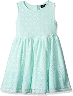 DKNY Girls' Lace Fashion Dress
