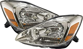 Headlight Replacement For Toyota Sienna Driver Left and Passenger Right Pair Set 2004 2005 Headlamp Assembly