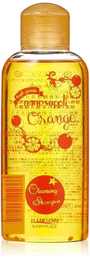 迫害する厳しいメディックサニープレイス ハイグレードナノサプリシャンプー オレンジ 120ml