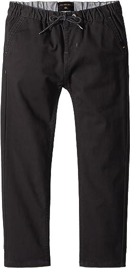 Quiksilver Kids Krandy Elasticated Pants (Toddler/Little Kids)