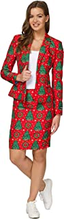 womens christmas suit jacket