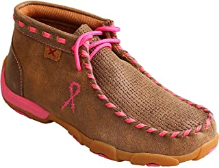 Twisted X Kids Bomb/Neon Pink Driving Mocs