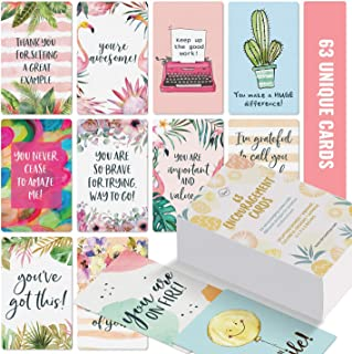 Motivational Cards – 63 Unique Inspirational Cards. Business Card Sized..