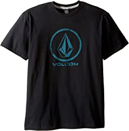 Volcom Kids - Lino Stone Short Sleeve Tee (Big Kids)