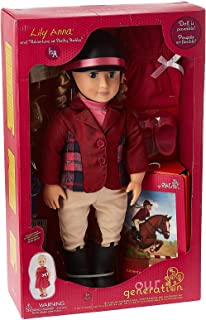 Our Generation Deluxe Lily Anna Doll N Book - 3 Years and Above (HM0078579)