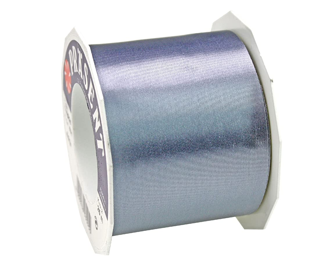 Pr?sent C.E. Pattberg 72 mm 25 m Ribbon Satin Adria, Silver