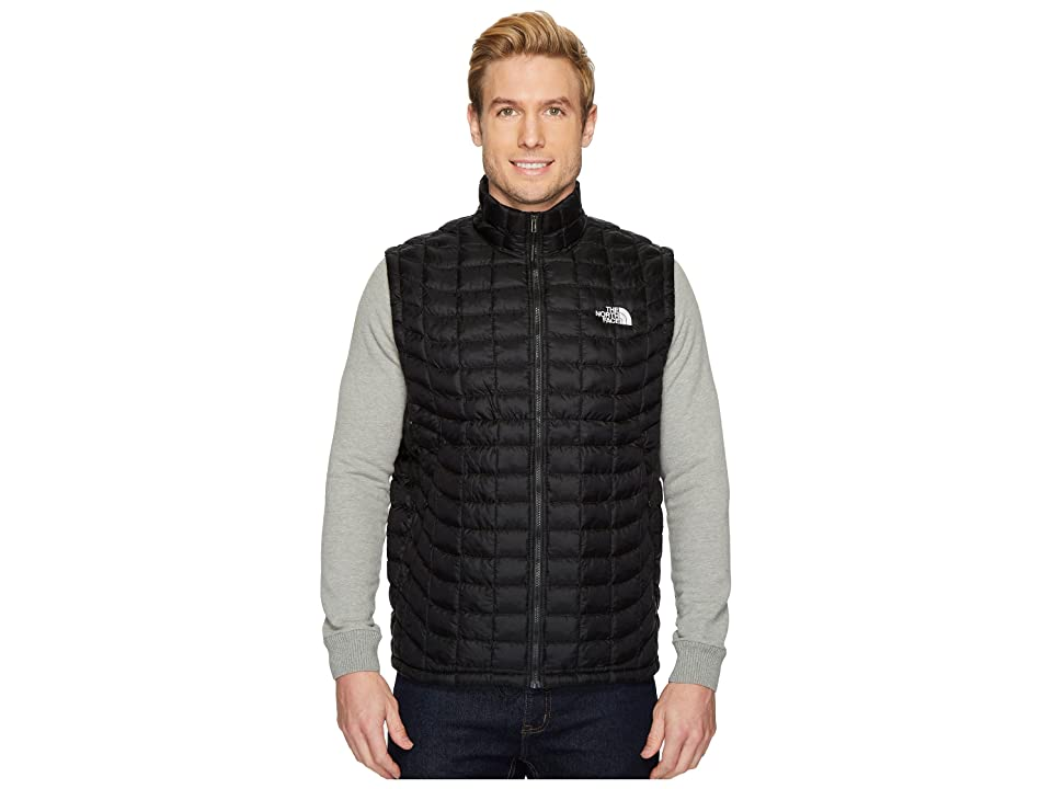 The North Face Thermoball Vest (TNF Black/TNF White Catalogue Collage) Men