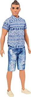 Barbie Ken Fashionistas Distressed Denim Doll, Broad