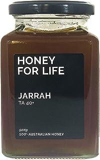 Jarrah Honey TA40+ 500g Glass Jar