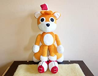 Tails doll inspired plush , Custom Tails Doll Plushie plush inspired fun art custom plush 45 cm minky