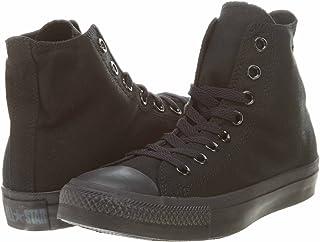 Converse Unisex Chuck Taylor All Star High Top Sneakers Optical White (8 B(M) US Women / 6 D(M) US Men, Black Monochrome)