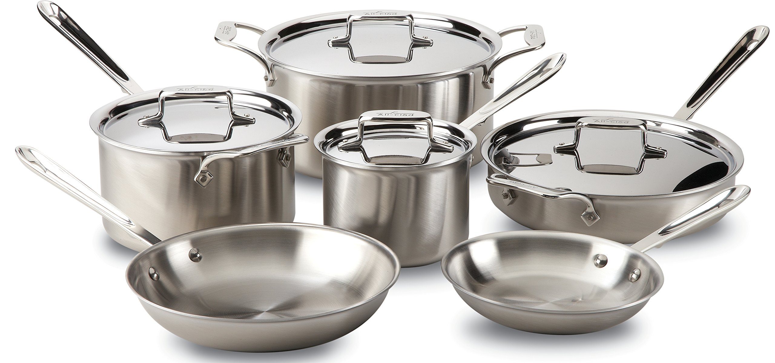 All Clad BD005710 R Stainless Dishwasher Cookware