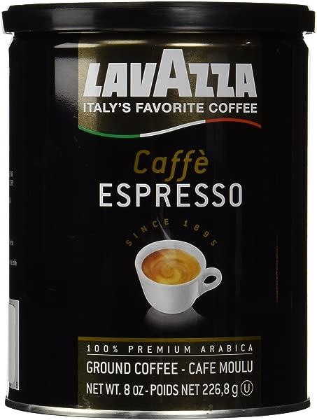 Lavazza Ground Coffee Caffe Espresso 8 Oz 2 Pk