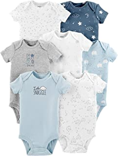 Carter's Baby Boys' 7-Pack Short-Sleeve Original Bodysuits
