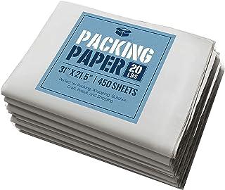 """Newsprint Packing Paper: 20 lbs of Unprinted, Clean Newsprint Paper, 31"""" x 21.5"""