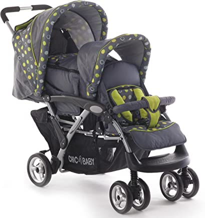 Amazon.es: Cesta - Sillas gemelares / Carritos y sillas de paseo: Bebé
