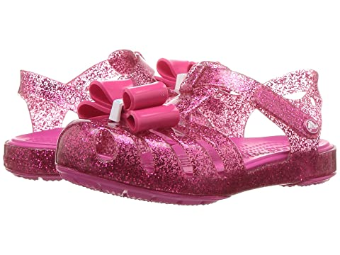 37b7ff952b8f65 Crocs Kids Isabella Bow Sandal (Toddler Little Kid) at Zappos.com