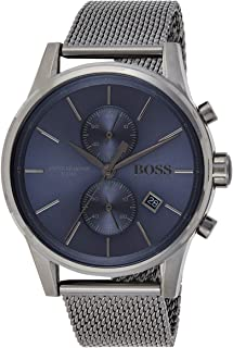 Hugo Boss Mens Quartz Watch, Chronograph Display and Stainless Steel Strap 1513677
