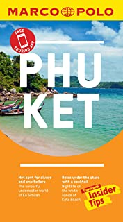 Phuket Marco Polo Pocket Travel Guide - with pull out map