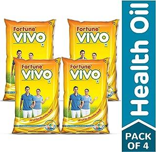 Fortune Vivo Oil, 1 L (Pack of 4)