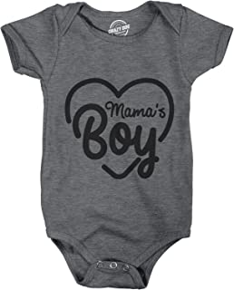 baby boy onesies about mommy