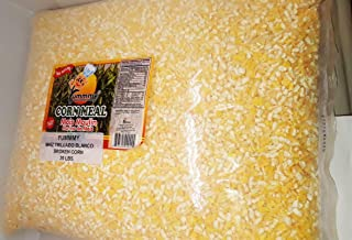 YELLOW HOMINY CORN 20 LBS. Kosher certified, 100% Natural, Bulk size, Maiz partido, trillado amarillo Yummmy
