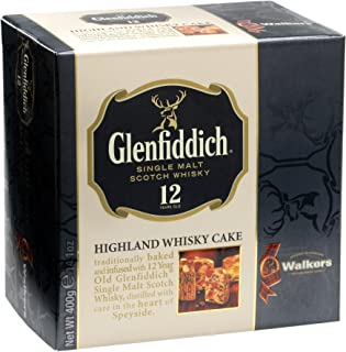 Walkers Shortbread Glenfiddich Highland Whisky Cake, 14.1 Ounce